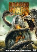 "D-War Dragons Attacking Buildings - 11"" x 17"""