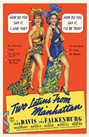 """Two Latins from Manhattan - 11"""" x 17"""" - $15.49"""