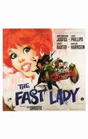 """The Fast Lady - 11"""" x 17"""", FulcrumGallery.com brand"""