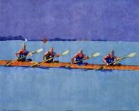 Rowers Fine Art Print