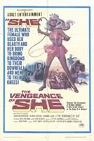 "The Vengeance of She - 11"" x 17"""