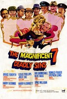 """The Magnificent Seven Deadly Sins - 11"""" x 17"""" - $15.49"""