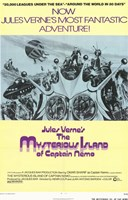 """The Mysterious Island of Captain Nemo - 11"""" x 17"""""""