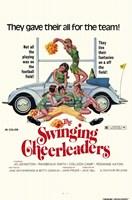 "The Swinging Cheerleaders - 11"" x 17"""