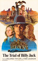 """The Trial of Billy Jack - 11"""" x 17"""""""