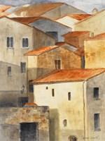 Village of Pitiglione II Framed Print