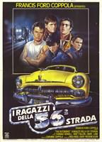 "The Outsiders Italian - 11"" x 17"", FulcrumGallery.com brand"