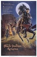 """The Black Stallion Returns - 11"""" x 17"""" - $15.49"""