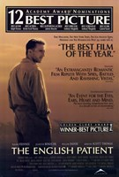 """The English Patient - Winner best picture - 11"""" x 17"""""""