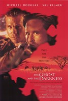 """The Ghost and the Darkness Douglas and Kilmer - 11"""" x 17"""" - $15.49"""