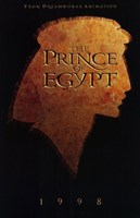 "The Prince of Egypt 1998 - 11"" x 17"", FulcrumGallery.com brand"