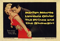 """The Prince and the Showgirl Monroe & Olivier - 17"""" x 11"""", FulcrumGallery.com brand"""