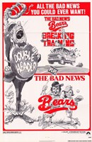 "he bad News Bears In Breaking Training Combo Bad News Bears - 11"" x 17"" - $15.49"