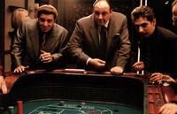 "The Sopranos - three men - 17"" x 11"", FulcrumGallery.com brand"