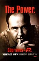 "The Sopranos - the power - 11"" x 17"", FulcrumGallery.com brand"