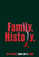 "The Sopranos - Family History - 11"" x 17"", FulcrumGallery.com brand"