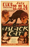 "The Black Cat, 1934, 1934 - 11"" x 17"""