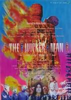 "The Wicker Man - 11"" x 17"", FulcrumGallery.com brand"