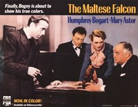 The Maltese Falcon Humphrey Bogart Fine Art Print