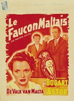 The Maltese Falcon De Valk Van Malta Fine Art Print