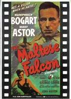 The Maltese Falcon Film Reel Fine Art Print