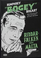 The Maltese Falcon Riddar Falken Fine Art Print