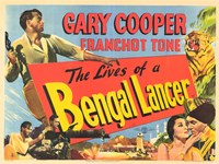 """The Lives of a Bengal Lancer - 17"""" x 11"""""""