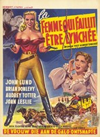 "The Woman They Almost Lynched (movie poster) - 11"" x 17"", FulcrumGallery.com brand"