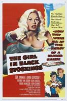 """The Girl in Black Stockings - 11"""" x 17"""" - $15.49"""