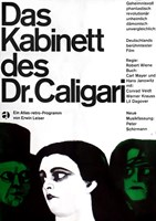 The Cabinet of Dr. Caligari Fine Art Print
