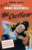 """The Outlaw Introducing Jane Russell - 11"""" x 17"""", FulcrumGallery.com brand"""