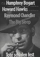 """The Big Sleep Tote Schlafen Fest - 11"""" x 17"""""""
