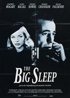 The Big Sleep Black and White Fine Art Print