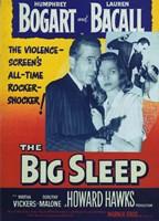 The Big Sleep Bogart and Bacall Fine Art Print