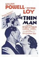 "The Thin Man - Myrna Loy - 11"" x 17"", FulcrumGallery.com brand"