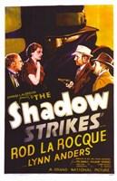 "The Shadow Strikes - 11"" x 17"" - $15.49"