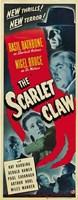 "The Scarlet Claw - 11"" x 17"", FulcrumGallery.com brand"
