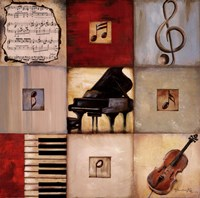 Feel the Music II Fine Art Print