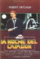 "The Night of the Hunter - spanish movie - 11"" x 17"""