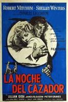 "The Night of the Hunter - spanish - 11"" x 17"" - $15.49"