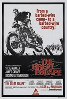 The Great Escape Motorcycle Fine Art Print