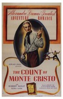 """The Count of Monte Cristo - Adventure - 11"""" x 17"""" - $15.49"""