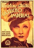 "The Scarlet Empress Spanish - 11"" x 17"", FulcrumGallery.com brand"