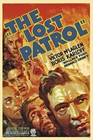 """The Lost Patrol - faces - 11"""" x 17"""" - $15.49"""