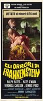 """The Horror of Frankenstein - 11"""" x 17"""", FulcrumGallery.com brand"""