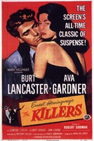 The Killers Burt Lancaster & Ava Gardner Fine Art Print