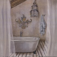 Crystal Bath I Fine Art Print