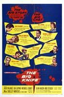 "The Big Knife - The big cast - 11"" x 17"""