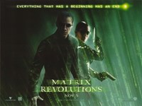 The Matrix Revolutions Beginning has an End Fine Art Print