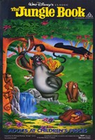 "The Jungle Book Baloo Bagheera - 11"" x 17"""